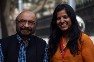 Govind Nihalani and Leena Manimekalai