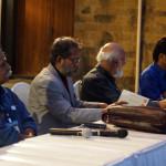Kalpetta Narayanan, Subodh Sarkar, Sitanshu Yashaschandra, and Santosh Pallasana