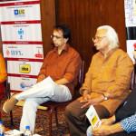 Leena Manimekalai,Anand Mahadevan, Adoor and Govind Nihalani