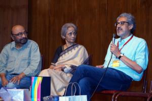 Makrand Deshpande, Shanta Gokhale and Govind Nihalani