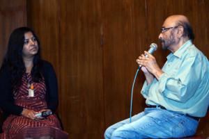 One-to-one Govind Nihalani and Leena Manimekalai
