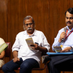 Sachin Ketkar, Kalpetta Narayanan and Urmila Pawar on Session on Marginalised writing