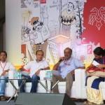 Abdul Rasheed, Vikram Hatvar, Karki Krishnamurthy, Shanthi Appanna at Bangalore Lit Fest 2017